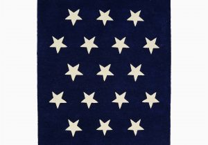 Navy Blue Star Rug Great Little Trading Co Star Children S Rug L180 X W120cm Navy