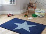 Navy Blue Star Rug Little Home at John Lewis Star Children S Rug Blue L170 X W110cm Blue