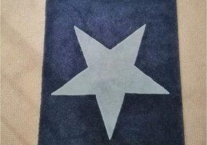 Navy Blue Star Rug Lovely Blue Star Rug