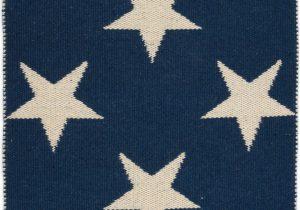 Navy Blue Star Rug Star Navy & Ivory Indoor Outdoor area Rug