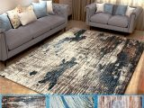 Neutral area Rugs for Living Room Nk Home Abstract area Rug Geometric Modern area Rug