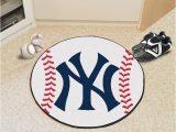 New York Yankees area Rug New York Yankees 27 Baseball Interior Rug