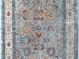 Nicole Miller area Rugs Home Goods Home Dynamix Nicole Miller Artisan issa Runner area Rug 2 X6 Border Blue Ivory