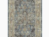 "Nicole Miller area Rugs Home Goods Nicole Miller New York 27"" X 45"" Washed Blue Montebello"