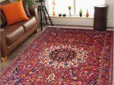 Nightmare before Christmas area Rug Modern Black Square Pattern area Rug 8 X 10 Floor Carpet