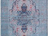 Non Skid Washable area Rugs Mylife Rugs Traditional Vintage Non Slip Machine Washable Distressed area Rug Turquoise Red 3 X5