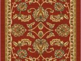 Non Skid Washable area Rugs Tabriz Red Traditional Non Slip Washable Rug