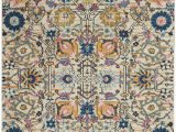 Nourison Passion Multicolor area Rug Nourison Passion 5 X 7 Ivory Multicolor area Rug