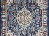 Nourison Passion Multicolor area Rug Nourison Passion Psn29 Blue Multicolor area Rug