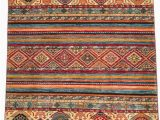 Nuloom Handmade Bold Abstract Floral Wool area Rug 4 X 6 southwestern Jewel tone Wool Rug 4 X 6