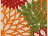 Nuloom Handmade Bold Abstract Floral Wool area Rug Barrera Red Rug