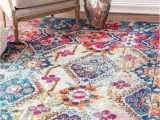 Nuloom Handmade Bold Abstract Floral Wool area Rug Nuloom Alejandra Rug with Images