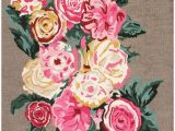 Nuloom Handmade Bold Abstract Floral Wool area Rug Nuloom Garden Rose Bouquet Hand Hooked Wool Rug with Images