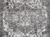 "Nuloom Transitional Medallion area Rug Nuloom Transitional Medallion Maryanne area Rug Gray 6 7""x9 Rectangle"