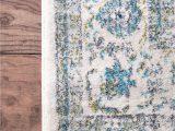 Nuloom Verona Blue area Rug Nuloom Blue Verona Rzbd07a area Rug