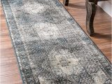 Nuloom Vintage Distressed area Rug Nuloom Overdyed Vintage Traditional Distressed area Rug In Blue