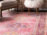 Nuloom Vintage Distressed area Rug Nuloom Traditional Vintage Distressed Jenice area Rug In