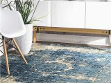 "Nuloom Vintage Distressed area Rug Nuloom Vintage Lindsy Distressed area Rug 2 6"" X 14 Blue"