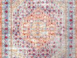 Nuloom Vintage Floral area Rug Nuloom Traditional Vintage Floral Daria area Rug In Light