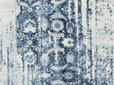 Nuloom Vintage Flourish area Rug Nuloom Armsdale Distressed Ernestina Flourish Glar03a Blue area Rug