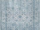 Nuloom Vintage Flourish area Rug Nuloom Floral Elyse Fringe Traditional Vintage area Rug Blue 6 X9