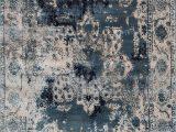 """Nuloom Vintage Flourish area Rug Nuloom Vintage Deidra Marine 7 8×9 6"""" area Rug"""