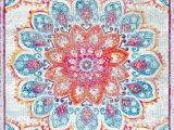 Nuloom Vintage Flourish area Rug Nuloom Vintage Floral Kiyoko Pink area Rug