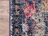 Nuloom Vintage Medallion Veronica area Rug Amazon Nuloom Blue