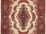 """Off White area Rug 5×7 Kerman White Hand Knotted 5 7"""" X 7 1"""" area Rug 251"""