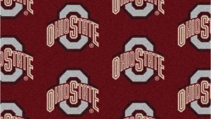 """Ohio State Buckeyes area Rug Details About 10×13 Milliken Ohio State Buckeyes Ncaa Repeat area Rug Approx 10 9""""x13 2"""""""