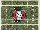 Ohio State Buckeyes area Rug Milliken Team Rugs Homefield Rugs 3319 Ohio State area