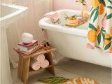 One Home Bath Rugs Peach Clean Bathroom Decor Inspiration Peach Bath Rug and