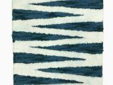 Opalhouse Perfectly soft Bath Rug Opal House Plush Teal Blue & White Geo Stripe Cotton Bath Rug Throw Mat 20×32 Walmart