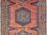 Orange and Blue Persian Rug orange 7 X 11 3 Viss Persian Rug