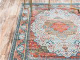 Orange and Pink area Rugs Lonerock European orange Pink area Rug In 2020 with Images