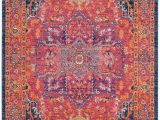 Orange and Pink area Rugs Schneider oriental Pink orange area Rug