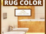 Orange Bathroom Rugs and towels How to Choose Bathroom Rug Color Home Decor Bliss