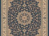 Orian Rugs Manor Gate Blue Classical Manor Blue 5 Ft 3 Inch X 7 Ft 5 Inch Indoor Traditional Rectangular area Rug