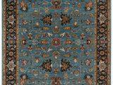 Oriental Weavers Braxton area Rug Antiquity Hand Woven Wool Turquoise Rug