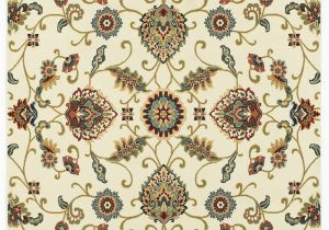 Oriental Weavers Of America Harper Multicolor Indoor area Rug Sphinx Ivory Curls Borderless Swirls Bulbs Contemporary area Rug Floral 9946w