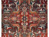 "Oriental Weavers Sedona area Rug oriental Weavers Sedona Red orange southwest Lodge Indoor area Rug 5 3""x7 6"""