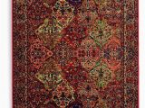 Original Karastan 700 Panel Kirman area Rug Karastan area Rug original 717 Multi Panel Kirman 8 8 X 10