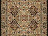 Original Karastan 700 Panel Kirman area Rug original Karastan 700 Empress Kirman Black 724 by Karastan