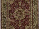 Ottomanson Royal Collection area Rug Ottomanson Royal Collection Distressed Medallion Design area