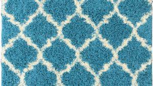 Ottomanson Ultimate Collection Moroccan Trellis Design Shag area Rug Details About Ottomanson Ultimate Shaggy Collection Moroccan Trellis Design Shag Rug