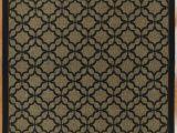 Outdoor 8 X 10 area Rugs tott and Eling Geometric 8 X 10 Brown Black Indoor Outdoor area Rug
