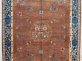 "Pale Blue Persian Rug 7812 Peking Chinese oriental Rug 10'1 X 13'6"""
