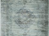 Pale Blue Persian Rug Light Blue Faded Aged Overdyed Style Rug