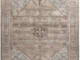 Pale Blue Persian Rug Nasiri Persian Traditional Bakshaish Handknotted Rug In Camel and Pale Blue Color