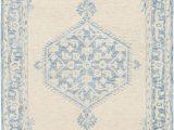 Pale Blue Shag Rug Princetown Handmade Tufted Wool Gray Pale Blue Rug